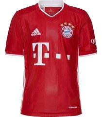 bayern munich youth home jersey t-shirts football shirts rood adidas performance