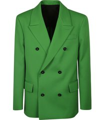 bottega veneta compact wool coat