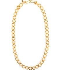 oversized round link eyeglass chain