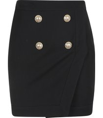 balmain short skirt