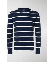 mp massimo piombo striped fine knit sweater