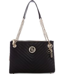 guess blakely status luxe satchel