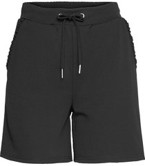sc-siham shorts flowy shorts/casual shorts svart soyaconcept