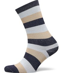 polyamide lurex blend lingerie hosiery socks multi/mönstrad ganni