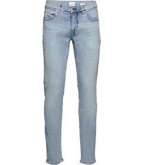 5 pocket stretch subtle blue slimmade jeans blå lindbergh