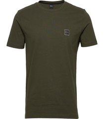 tales t-shirts short-sleeved grön boss