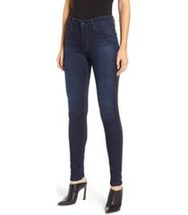 women's ag farrah high waist skinny jeans, size - (blue basin) (nordstrom exclusive)