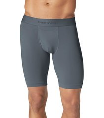 men's tommy john air boxer briefs, size medium - grey