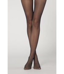 calzedonia 20 denier sheer matte tights woman blue size 3