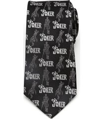 men's cufflinks, inc. joker pose silk tie