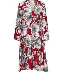miri, 693 jasmine silk jurk knielengte multi/patroon stine goya