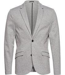 knitted blazer blazer colbert grijs lindbergh