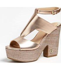 błyszczące sandały model hydey