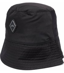 a-cold-wall black cotton hat with logo