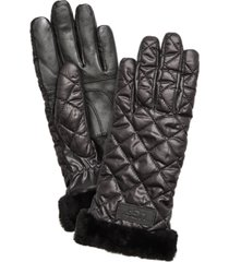 ugg quilted performance gloves
