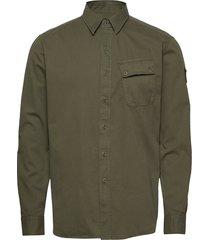 pitch shirt overhemd casual groen belstaff