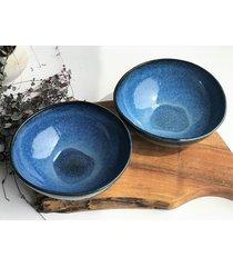 misa miska ceramiczna na ramen borówka
