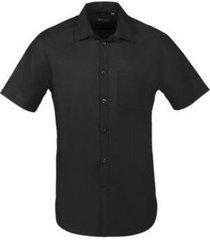 overhemd korte mouw sols bristol fit negro
