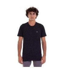 camiseta m/c super transfer - cinza escuro mescla - g