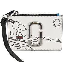 marc jacobs peanuts x the top-zip multi wallet marc jacobs