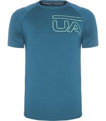 camiseta masculina raid 2.0 graphic - verde