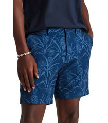 bonobos coast to coaster performance shorts, size 34 in playful pineapples at nordstrom