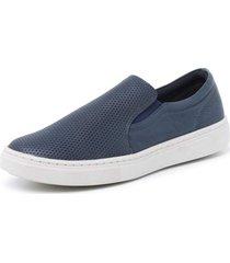 sapatenis sandalo soft walk blue