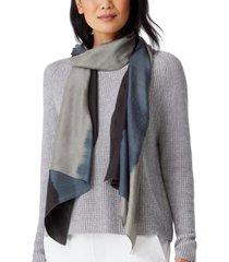 eileen fisher strata silk scarf