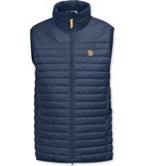 fjallraven men's abisko quilted full-zip vest