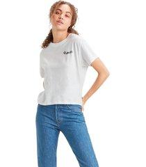 camiseta levis varsity fit - 42084 branco