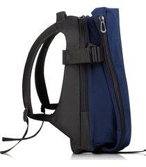 côte & ciel designer men's bags, isar medium midnight blue memory tech backpack