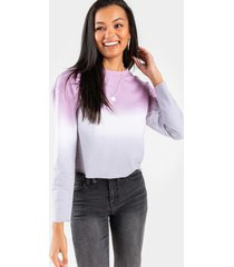 gianna ombre pullover - lavender