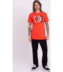 camiseta element monza crew masculina e471a0087 laranja