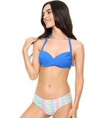 bikini azul lecol brianna