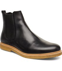 cast crepe chelsea shoes chelsea boots svart royal republiq