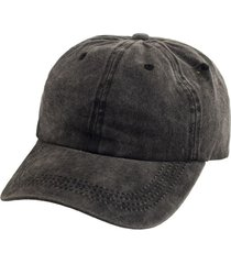 gorra negra bohemia gabardina gastada