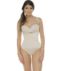 faja body con neolatex tipo panty bodylinecontrol 1107p piel
