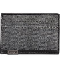 tumi men's slim card case