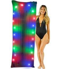 """poolcandy illuminated led 72"""" swimming pool raft"""