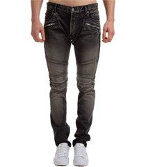 balmain fringe jeans