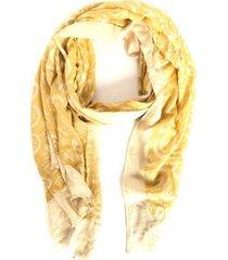 pañuelo petalos beige i-d