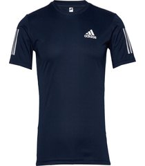 3-stripes club tee t-shirts short-sleeved blå adidas performance