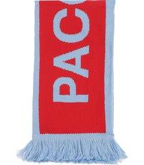 paccbet acrylic scarf knit