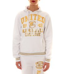 sweater sweet company sweat united marshall 1945 blanc/or