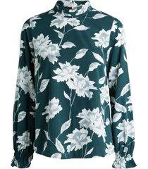 blouse printed long sleeved