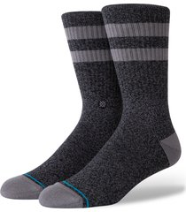 stance joven classic crew socks, size large in black at nordstrom