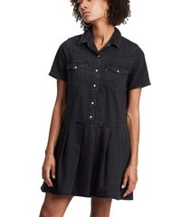 mirai western dress black