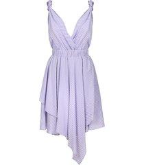 vestido pinko asimetrico