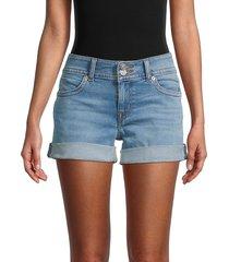 hudson women's ruby denim shorts - kiara - size 29 (6-8)