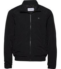 casual nylon blouson jacket dun jack zwart calvin klein